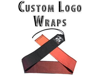 Custom wrist wraps with your box logo!