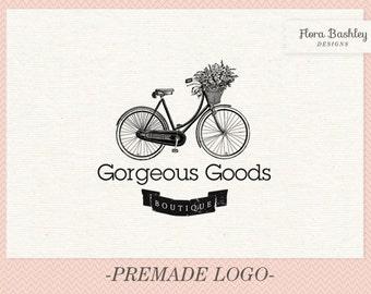 Custom Logo Design and Watermark - Premade  FB045