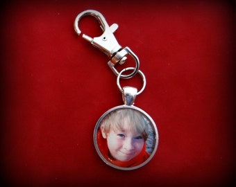Personalized Photo Keychain Gift