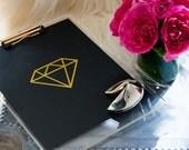 Diamond Print  |  Black