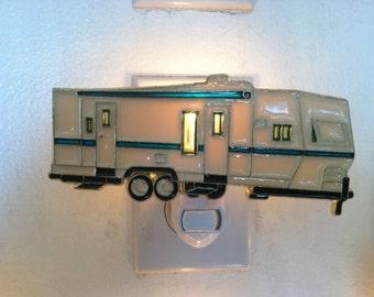 Pull trailer Night Light with  4 watt  on/off switch