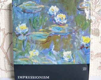 Vintage Hardcover Art Book 1950s Impressionism Skira Vol 1 Art Book