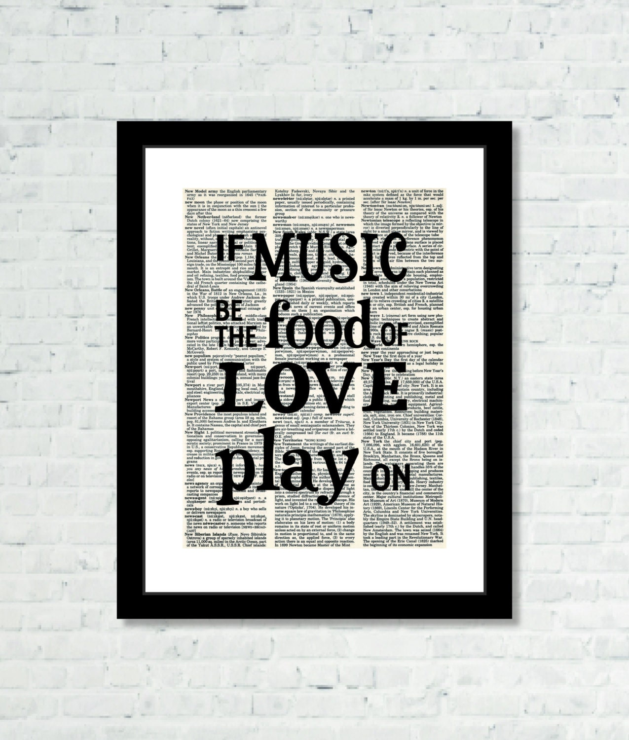 if music is the food of love play on shakespeare quote