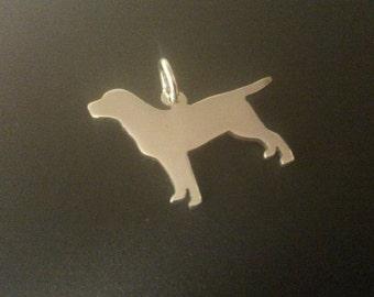 Labrador retriever Sterling Silver pendant