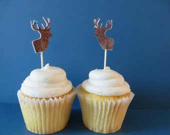 CUSTOMER FAVORITE  - Buck Antler party picks - great for the outdoors person - available in any color