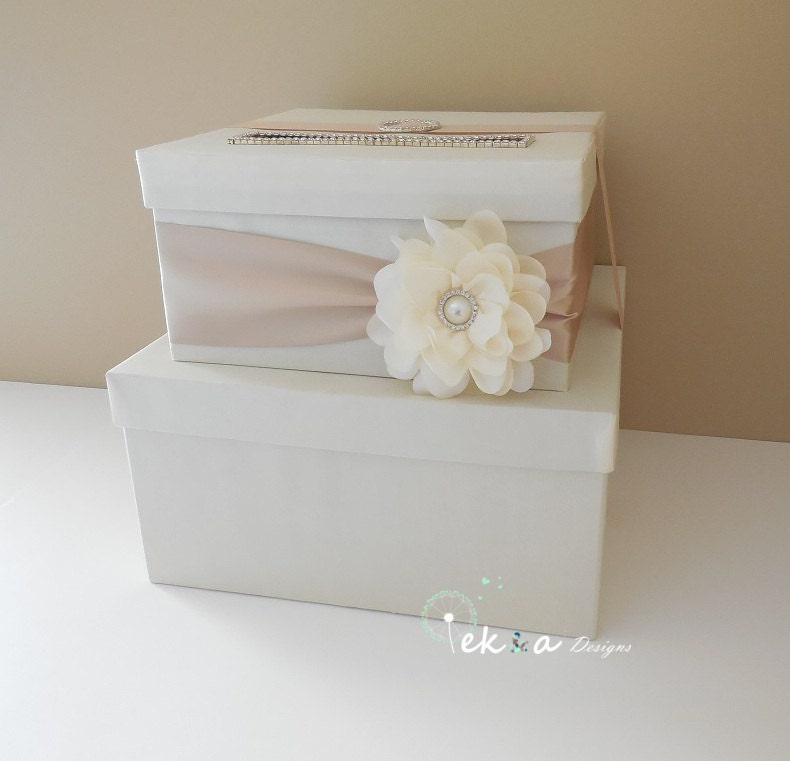 Wedding card box / money box / gift card holder / by eshepDesigns