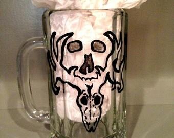 Custom hand-painted mugs