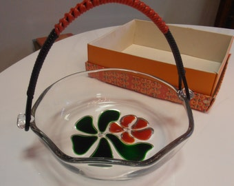 Vintage! Walther glass bowl 1960s  *SALE*