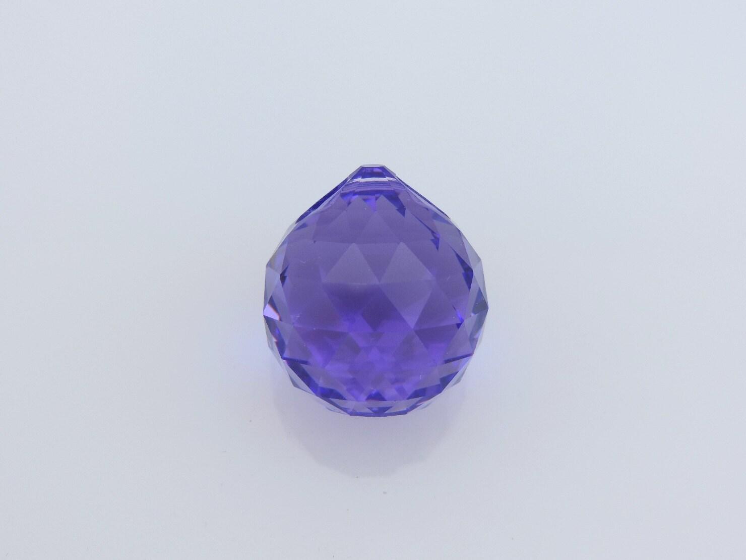 Swarovski Crystal Ball 20mm Prism One1purple Crystal Ball