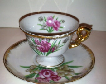 Miniature Teacup and Saucer