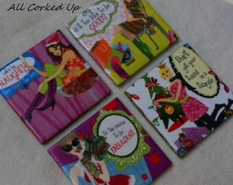 Christmas Coasters Party Set