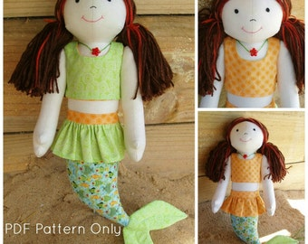 Marina the Mermaid PDF Pattern