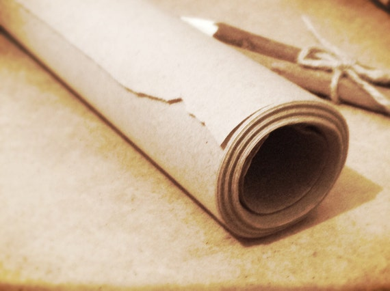 10m kraft paper roll brown wrapping paper rustic paper for Brown craft paper rolls