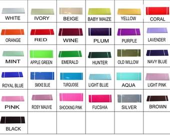 Little Miss Trendy's Tulle Colours