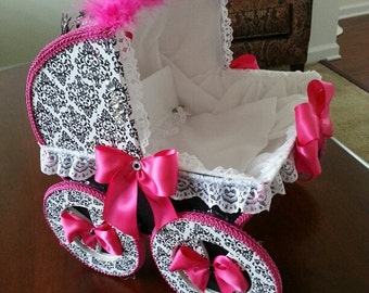 The Aniya Baby Carriage Centerpiece / Baby Shower centerpiece