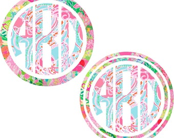 Monogram Wall Decal