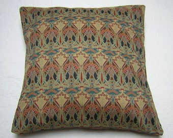 Liberty of London Fabric Cushion Cover - Ianthe Bronze