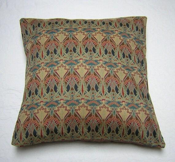 Liberty of London Fabric Cushion Cover - Ianthe Bronze