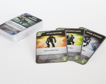 Titanfall Burn Cards - Full Set of 50