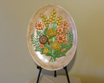 Vintage Wall Hanging of Fall Colors from Atlantic Mold