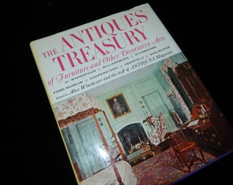 ANTIQUES TREASURY BOOK of Furniture and Other Decorative Arts