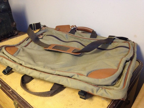 vintage l l bean garment bag in great by anthonysantiquities