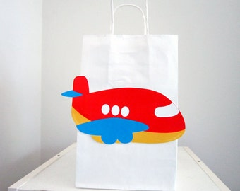 Airplane Party Favor, Goody, Gift Bags