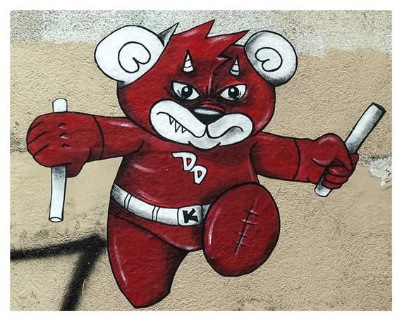 Paris Photography, Paris, Fine art photography, Graffiti, Art Print Paris, Street Art, Red, 5x7, 8x10, France