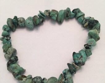 Chinese turquoise healing stone bracelet