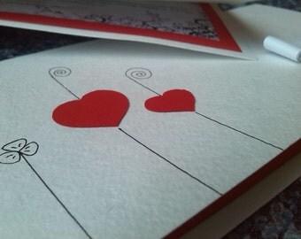 Cute wedding invitation) Two hearts for your best day)! Милое свадебное приглашение) Два сердца для Вашего лучшего дня)!