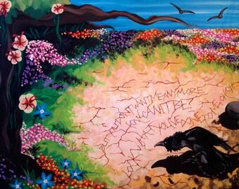The Garden- Original Painting