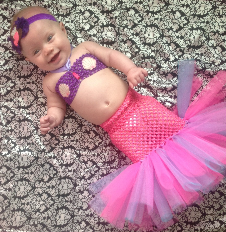 zoom - Baby Mermaid Halloween Costume