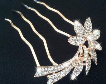 Rhinestone Comb, Bridal Hair Comb, Bridal Comb Crystal, Wedding Crystal Hair Comb, Hair Comb, Wedding Accessory, Bridal Headpiece