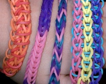 Rubberband bracelets made to order