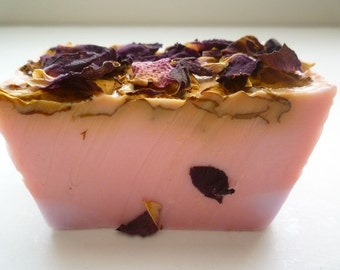 SOAP – 3lb. Lilac Rose Soap Loaf, Vegan Soap Loaf, Handmade Soap Loaf, Wholesale Soap, Wedding Favors, Wholesale Soap Loaves