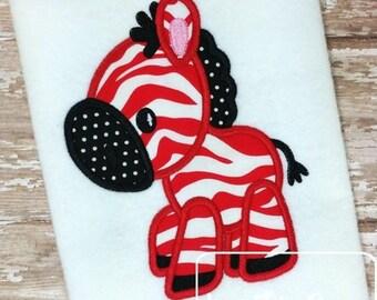 Zebra 38 Applique embroidery Design - zoo Applique Design - safari Applique Design - zebra Applique Design
