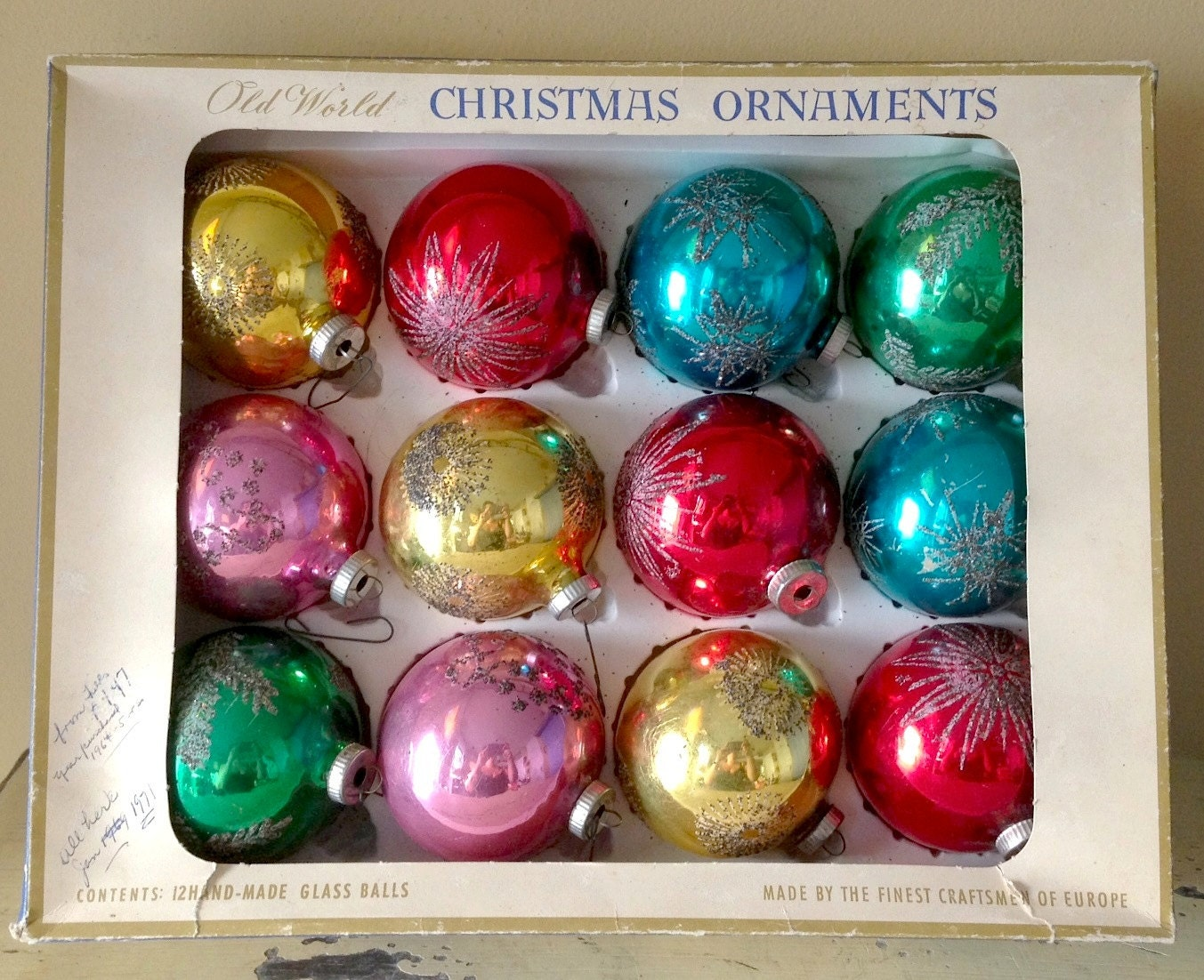 Starburst Christmas Ornaments