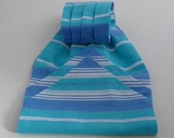Striped, Pure Cotton, Short,Cravat