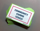 AKC Community Canine Task Card Pack with Grab Bag Train 'Em Tasks - Pack of 45 cards - Family Dog, Therapy dog, dog training, dog obedience