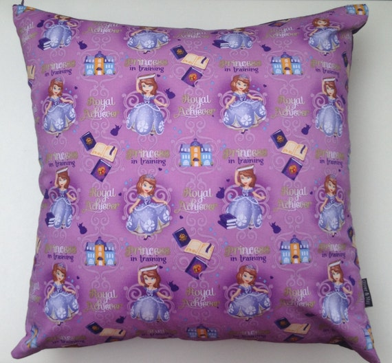 Sofia The First Throw And Pillow Set : Sofia The First Pillow Zippered Pillow Decorative by OliverandMay
