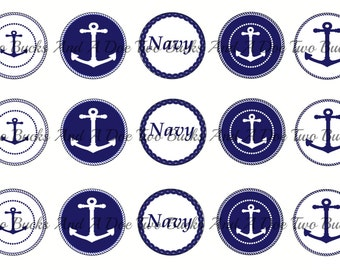 Navy Anchor Bottle Cap Images