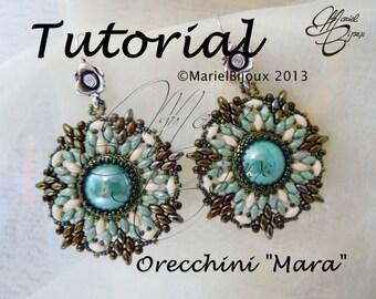 """Pattern - Earrings """"Mara"""""""
