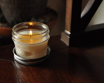 45 Mini Mason Jar Candles- Custom Scent and Color