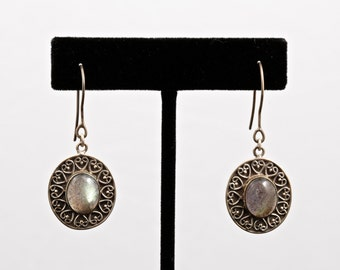 Labradorite 045 - Earrings - Sterling Silver