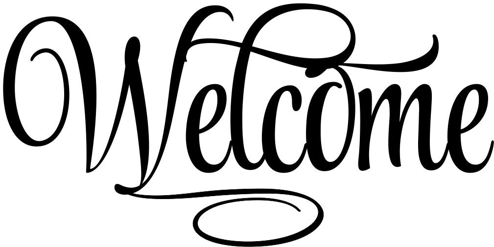 Welcome Sign Welcome 4 Welcome Decal Welcome Vinyl