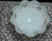 Vintage Nippon Tri Footed Bowl in Excellent condition ~ Old blue rising sun stamp