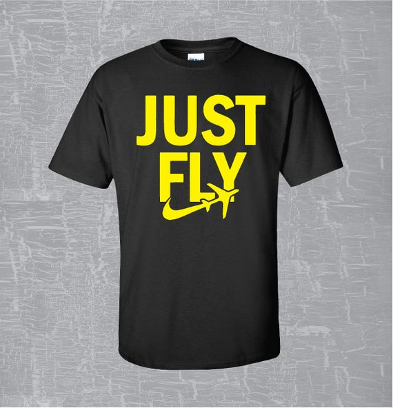 Items similar to just fly t shirt taylor gang wiz khalifa for Just hip hop t shirt