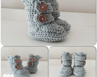 Infant Crochet Slippers