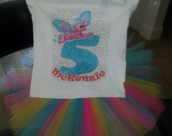My Little Pony Tutu with Matching Shirt