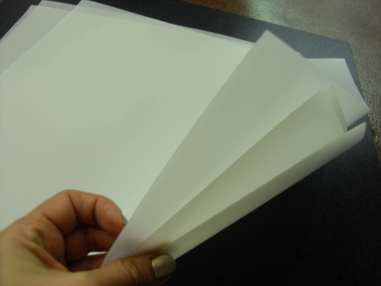 2 Flexible Lightweight Translucent Polyethylene Plastic Sheet